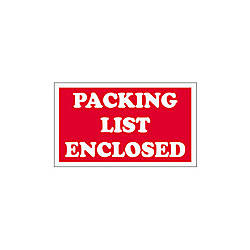 Tape Logic Preprinted Shipping Labels SCL538