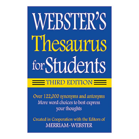 Federal Streets Press Webster's Thesaurus For Students 4th Edition, Pack Of 6