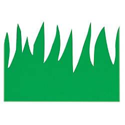Hygloss Green Grass Design Border Strips