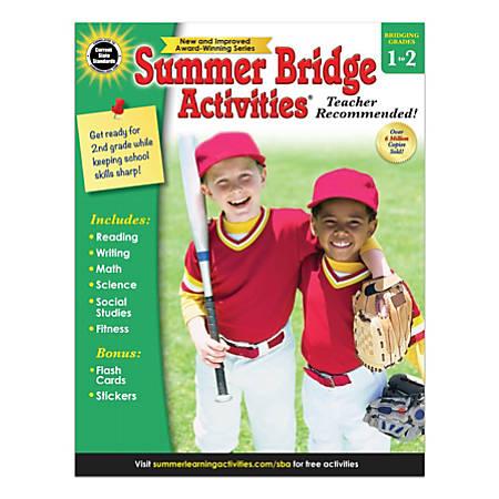 Carson-Dellosa Summer Bridge Activities Workbook, Grades 1-2