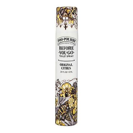 Poo-Pourri Original Toilet Spray, Citrus Scent, 10 mL