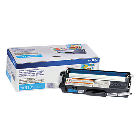 1,500 Yield Brother MFC-9560CDW Cyan Original Toner Standard Yield
