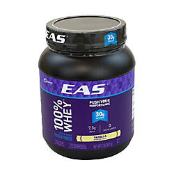 EAS Vanilla 100percent Whey Protein Powder