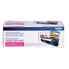 Brother TN 310M Magenta Toner Cartridge