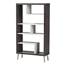 Baxton Studio Eli Display Shelf Dark