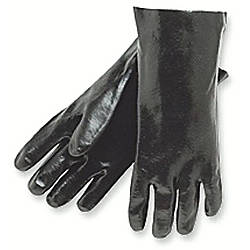 Memphis Glove Dipped PVC Gloves Knit