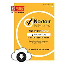 Norton AntiVirus Basic 2017 For 1