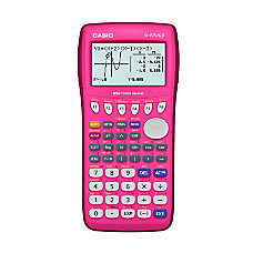 Casio FX9750GII PK Graphing Calculator Pink