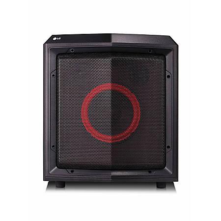 LG LOUDR FH2 Speaker System - 50 W RMS - Wireless Speaker(s) - Portable - Battery Rechargeable - Black