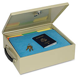 Insulated Metal Jumbo Security Chest With