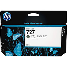 HP 727 Ink Cartridge Matte Black