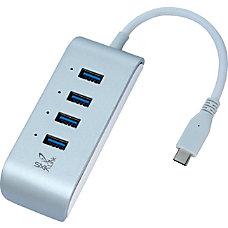 USB C Hub 4 Port USB