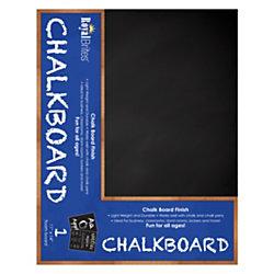 "Royal Brites 2 Cool Foam Board, Chalk Finish 11"" x 14"", Charcoal/White"