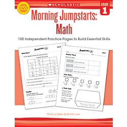 Scholastic Morning Jumpstarts Math Grade 1