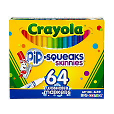 Crayola Pip Squeaks Skinnies Kids Color