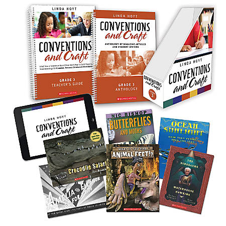Scholastic Professional Conventions And Craft Instruction Kit, 3rd Grade