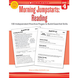Scholastic Morning Jumpstarts Reading Grade 4