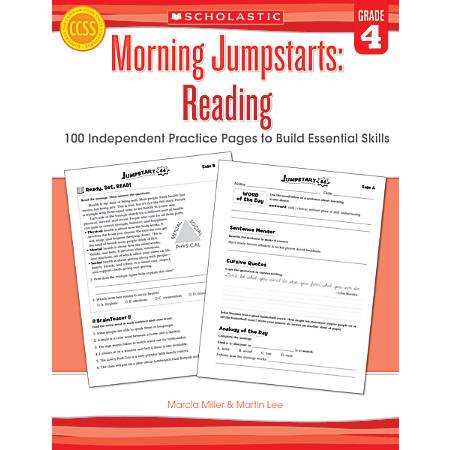 Scholastic Morning Jumpstarts: Reading, Grade 4
