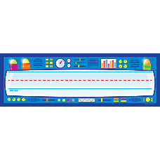 Scholastic Name Plates Think Tank Pack