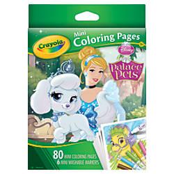 Crayola Mini Coloring Book Disney Assorted
