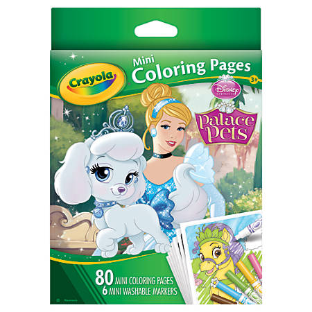 Crayola® Mini Coloring Book, Disney® Assorted Titles