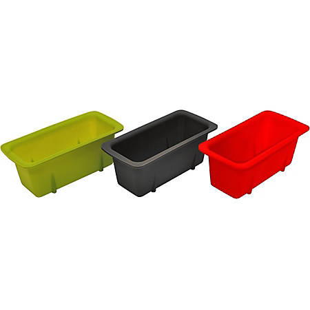 Starfrit Silicone Mini Loaf Pans, Set of 3