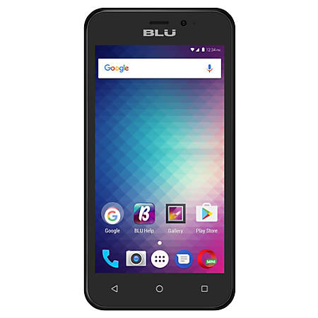 BLU Grand Mini G170Q Cell Phone, Black, PBN201405