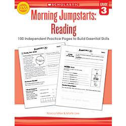 Scholastic Morning Jumpstarts Reading Grade 3