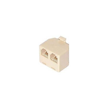 StarTech.com RJ11 to 2x RJ11 Splitter Adapter M/F