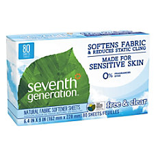 Seventh Generation Free Clear Natural Fabric