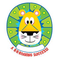 Scholastic Jingle Jungle Lion Hole Punch