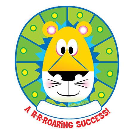 Scholastic Jingle Jungle Lion Hole-Punch Reward Tickets