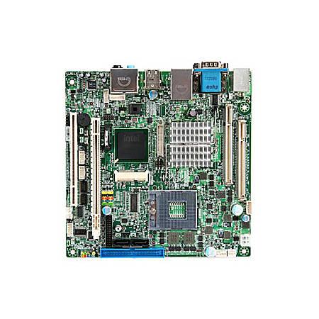 MSI IM-GME965 Workstation Motherboard - Intel Chipset - Socket P PGA-478 - 4 GB DDR2 SDRAM Maximum RAM - DDR2-667/PC2-5300, DDR2-533/PC2-4200 - 2 x Memory Slots - Gigabit Ethernet - 2 x SATA Interfaces