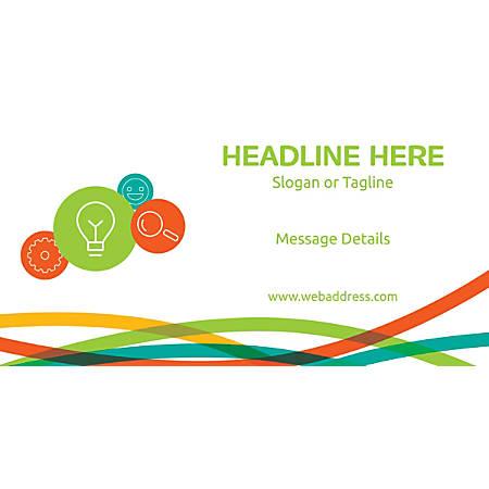 Custom Horizontal Banner, Business Idea And Tools