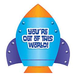 Scholastic Rocket Hole Punch Reward Tickets