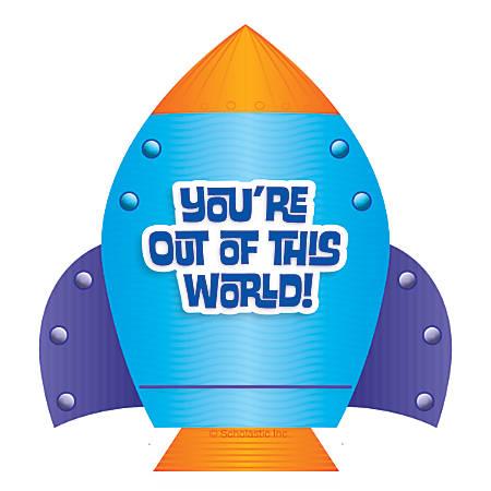 Scholastic Rocket Hole-Punch Reward Tickets