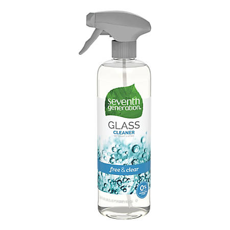 Seventh Generation™ Natural Glass And Surface Cleaner, Unscented, 23 Oz, Pack Of 8 Bottles