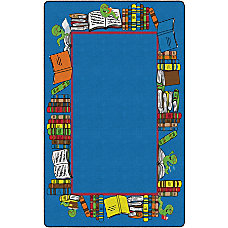 Flagship Carpets Bookworm Border Rectangle 7