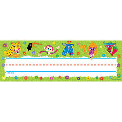 Scholastic Name Plates Jingle Jungle Pack