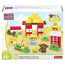 Mega Bloks Barnyard Buddies Building Blocks