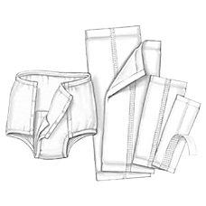 Covidien HANDICARE Garment Liners 4 12