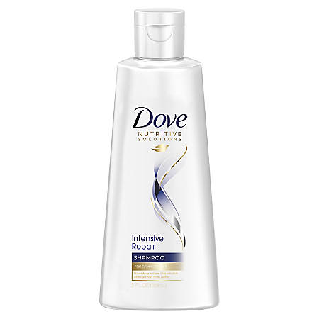 Dove Intensive Repair Hair Care Fresh Scent Shampoo, 3 Fl Oz, White