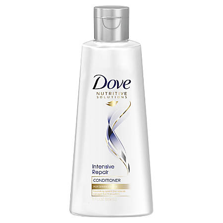 Dove Intensive Repair Hair Care Conditioner, 3 Fl Oz, Carton Of 24 Bottles