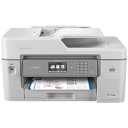 Brother MFC-J6545DW INKvestment Wireless Color Inkjet All-In-One Printer, Scanner, Copier, Fax