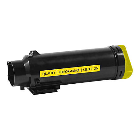 Clover Technologies Group™ 201287 (Dell™ 593-BBPE / 80DJM / 1MD5G) Extra-High Yield Remanufactured Yellow Toner Cartridge