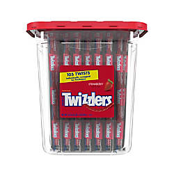 Twizzlers Strawberry Licorice 367 Oz Canister