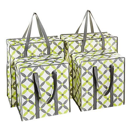 GNBI 4-Piece Shopper Tote Bag Set