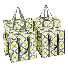 GNBI 4 Piece Shopper Tote Bag