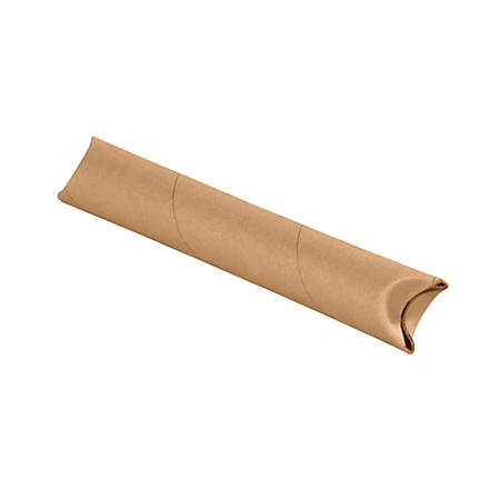"Office Depot® Brand Kraft Crimped-End Mailing Tubes, 1 1/2"" x 12"", Pack Of 70"
