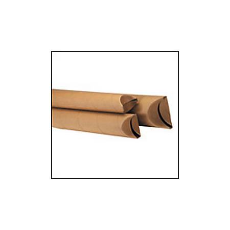 "Office Depot® Brand Kraft Crimped-End Mailing Tubes, 1 1/2"" x 16"", Pack Of 70"